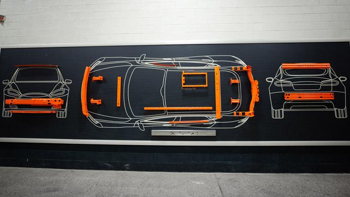 Concepts d'ingénierie automobile de Shape Corp.
