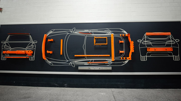 Shape Corp.의 자동차 설계 콘셉트