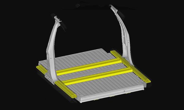 Anwendung von hochfestem Stahl in Elektrofahrzeugen