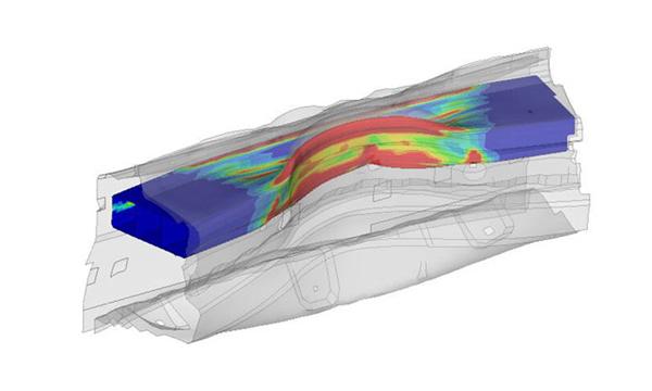 Simulations d'AHSS pour les conceptions automobiles