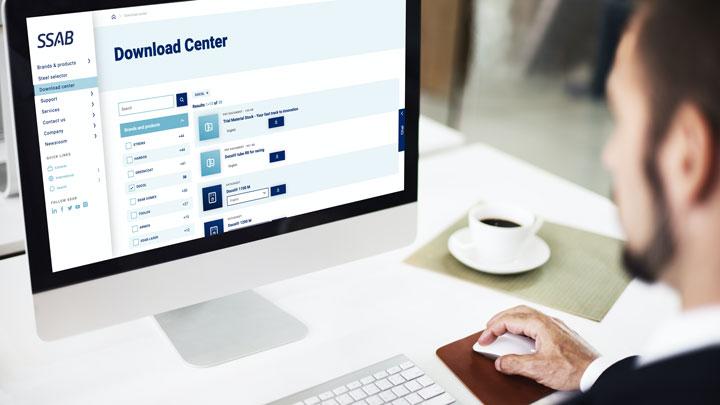 Téléchargez des fiches techniques et d'autres documents depuis le Centre de téléchargement