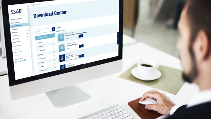 Download data sheets and more from Download center