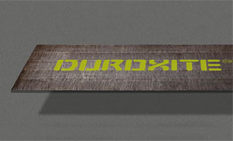 Duroxite plate