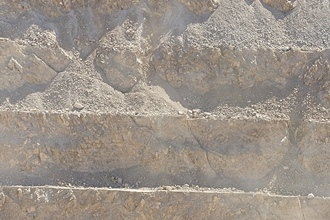 Duroxite pour les mines de cuivre à ciel ouvert