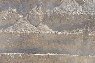 Duroxite kopparbrytning i dagbrott