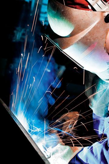 Duroxite welding