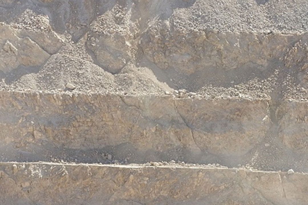 Mining quarry
