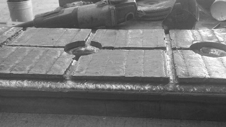 Duroxite® in steel mills