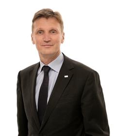 Olavi Huhtala, vice-président directeur de SSAB Europe, groupe SSAB