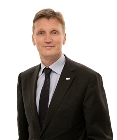 Olavi Huhtala Vice Presidente esecutivo SSAB Europa presso il gruppo SSAB