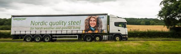 GreenCoat® och miljövänligare transporter