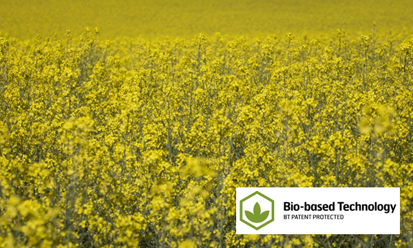 Most GreenCoat products feature a Bio-based Technology (BT) coating where a substantial portion of the traditional fossil oil is replaced by Swedish rapeseed oil.