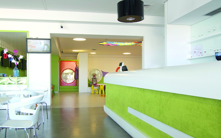 GreenCoat indoor applications