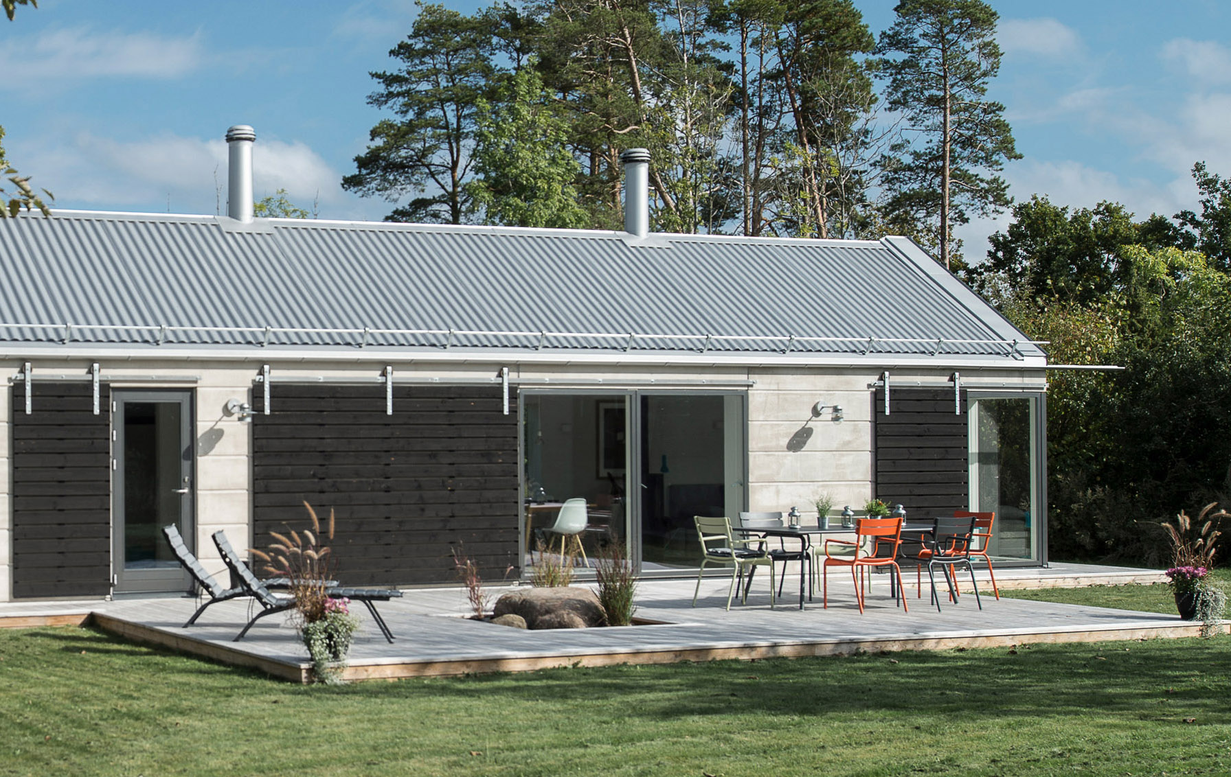House KD made from GreenCoat steel