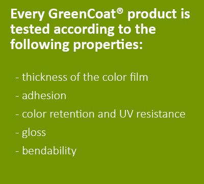 GreenCoat outdoor testin