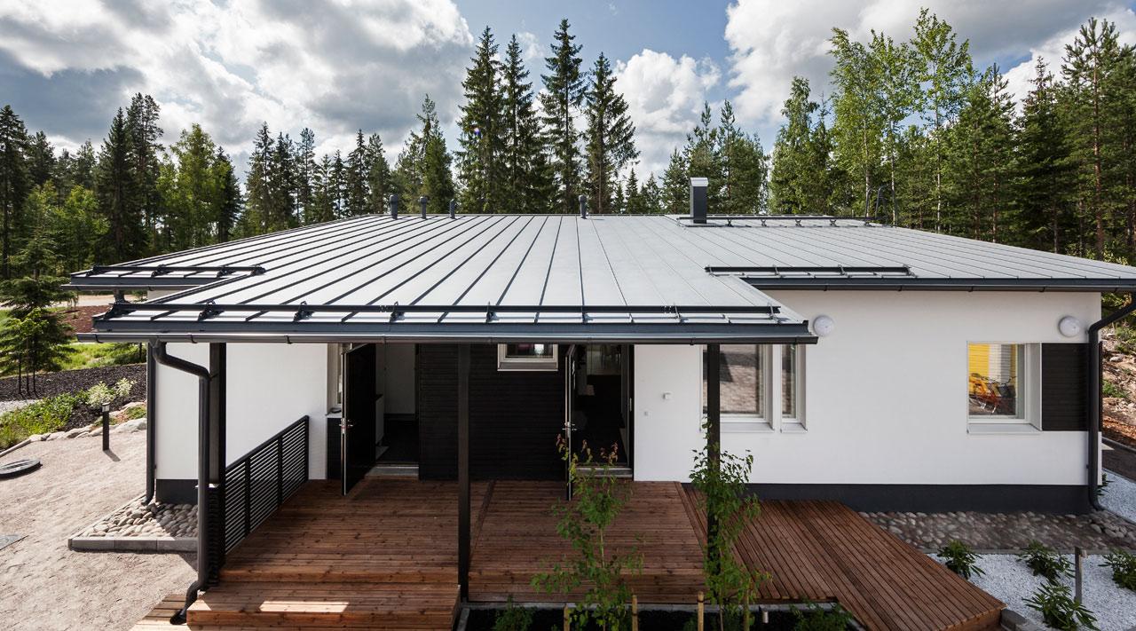 Villa AINOA - Ruukki Construction