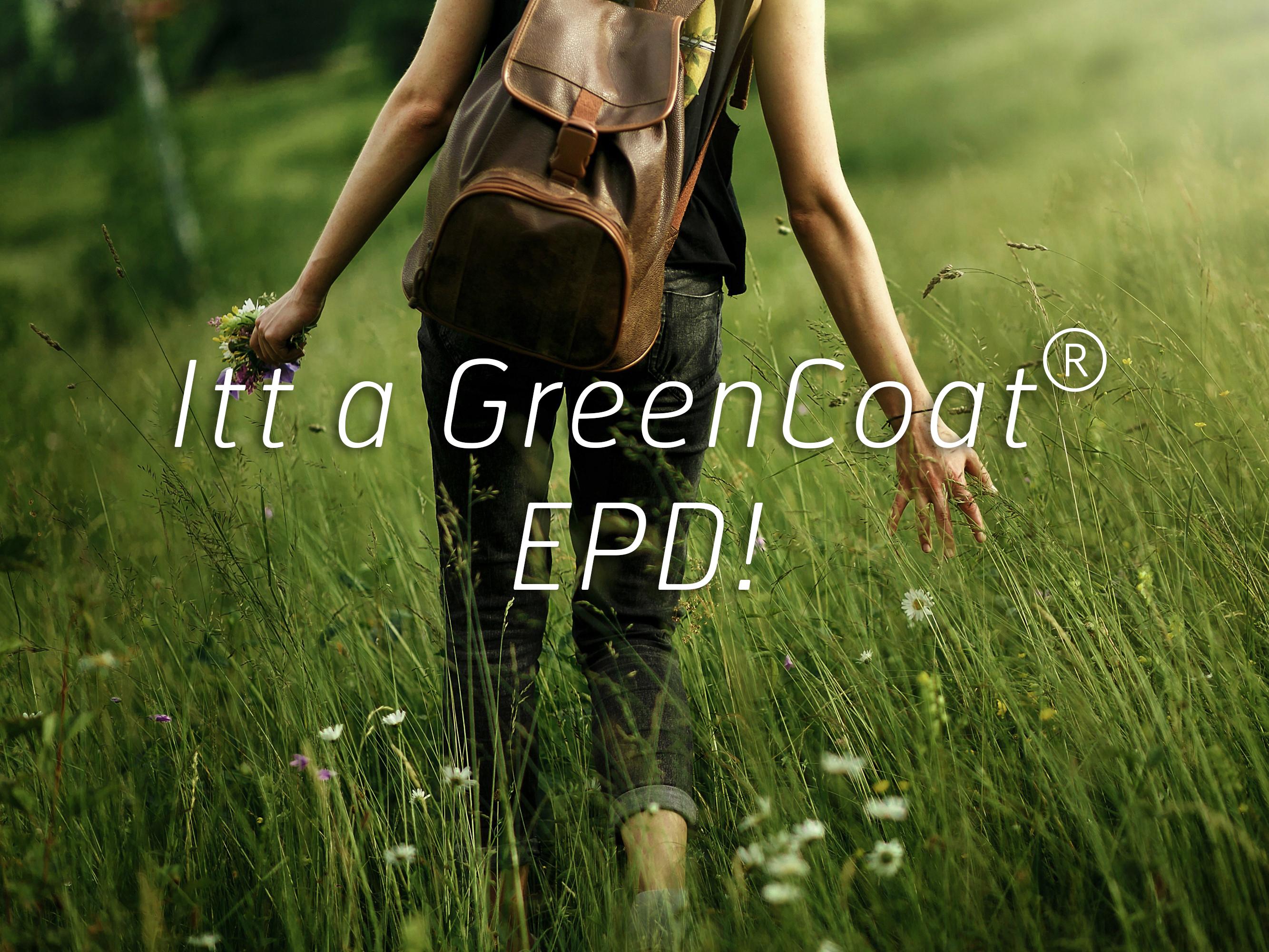 Fenntarthatósági környezetvédelmi terméknyilatkozat (EPD)