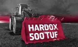 Hardox® 500 Tuf dla czerpaków koparek | SSAB