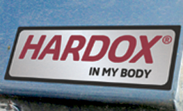 Hardox in my body sign