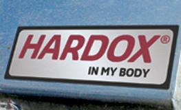 Il marchio Hardox® In My Body