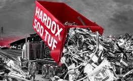 Hardox® 500 Tuf dla kontenerów recyklingowych | SSAB
