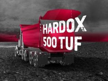 Hardox 500 tuf dumper