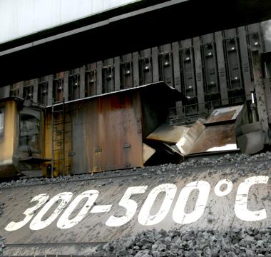 Hardox HiTemp - 300-500 stupňů Celsia