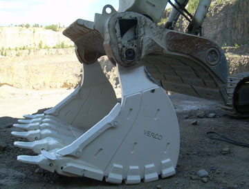 Hardox® helps VERCO supply equipment for extreme mining