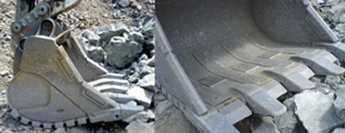 Utgrävningsutrustning tappar i vikt, ökar anseendet