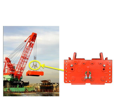 Cable arm environmental bucket