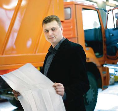 Hardox v ruském vozidle pro sběr odpadu