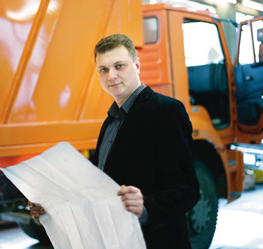 Hardox in Russian waste collection truck