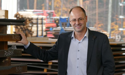 Michael Winkelbauer of the family-owned bucket manufacturer Winkelbauer GmbH