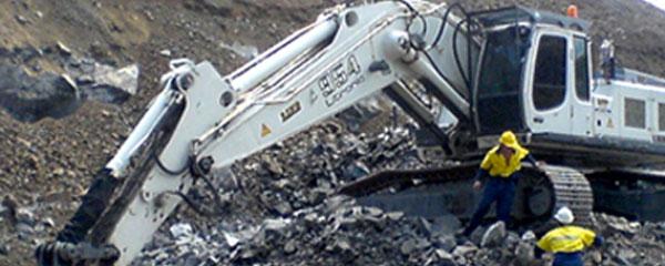 Antech excavation with Hardox