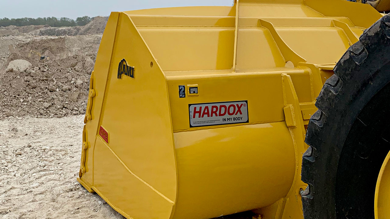 Combined engineering powers at SSAB and AMI Attachments create game-changing buckets using special steels.