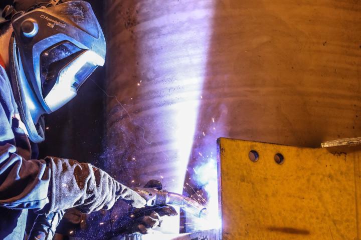 Hardox®耐摩耗鋼板の溶接