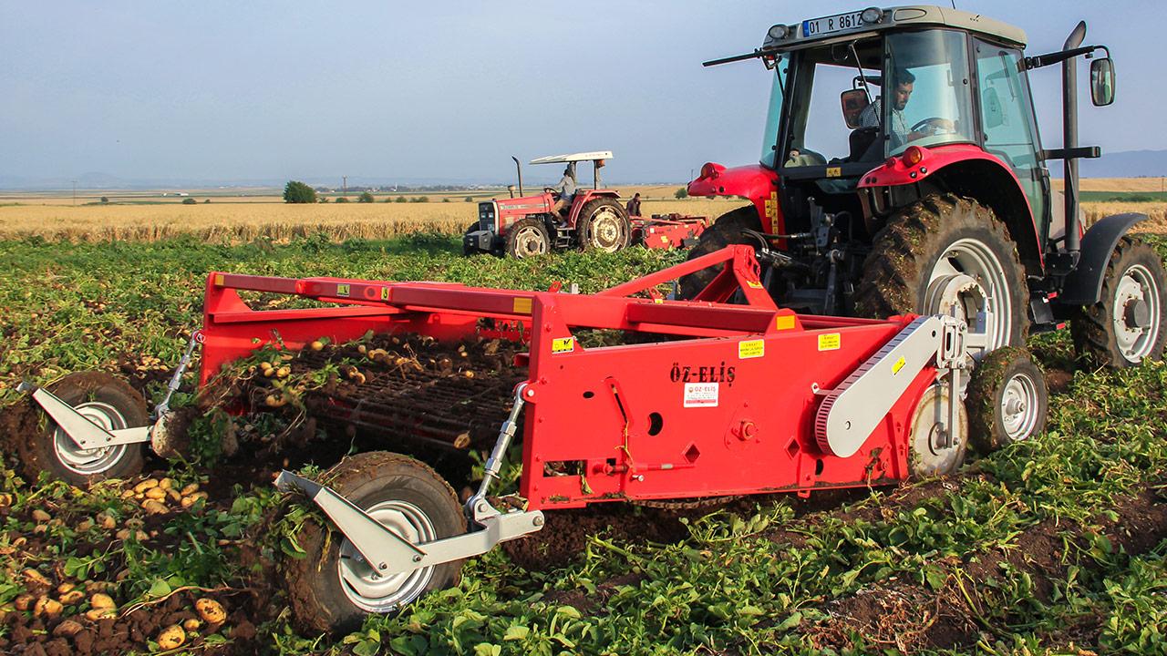 감자 수확기