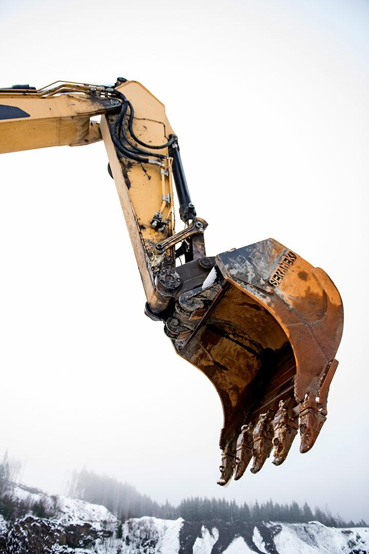 excavator arm