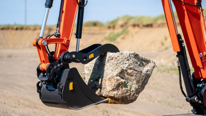 Reversible bucket designs offer excavator operators greater flexibility to get complex projects done faster.