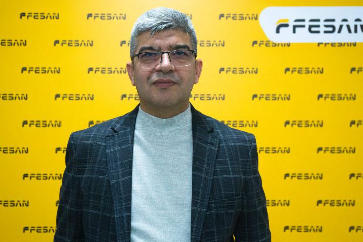 Mr. Selim Selvi, from the Turkish dumper manufacturer Fesan.