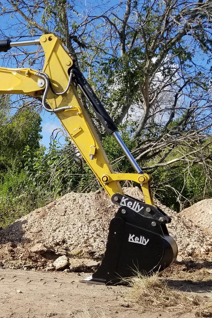 Bras d'excavatrice