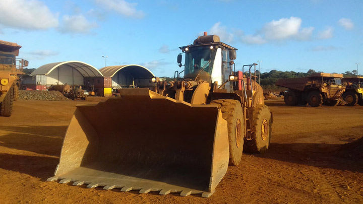 Hardox® In My Body front loader bucket made by Verco
