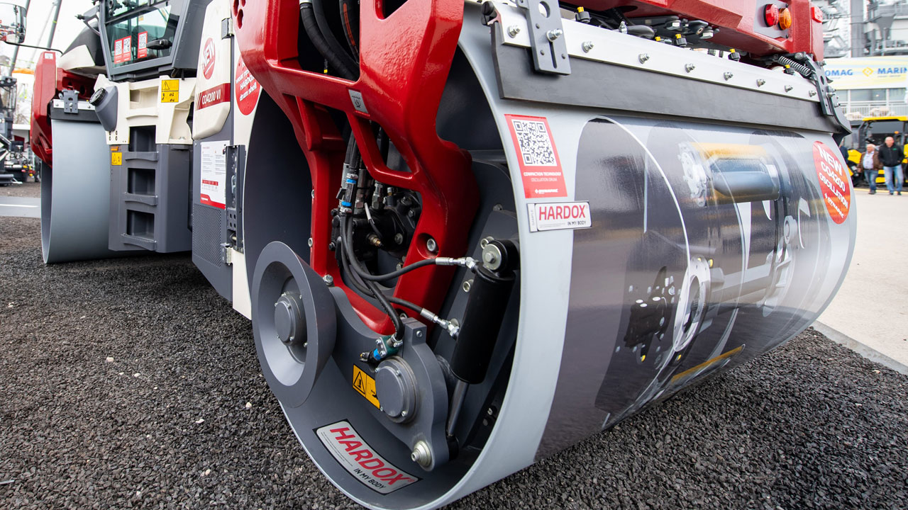 Dynapac CO 4200 Oscillating roller
