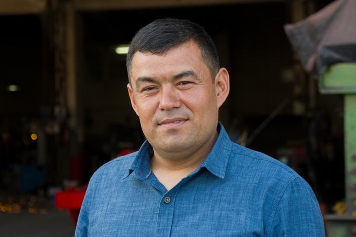 Mustafa Hayta from Turkish manufacturer of potato harvesting equipment