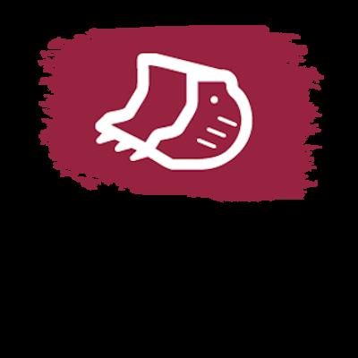 ícone de caçamba
