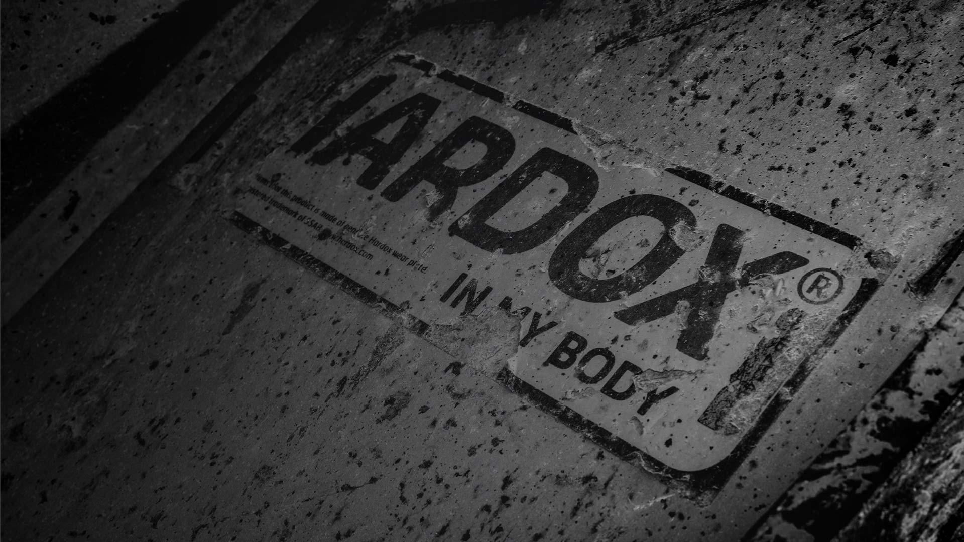 Hardox In My Body jelölés