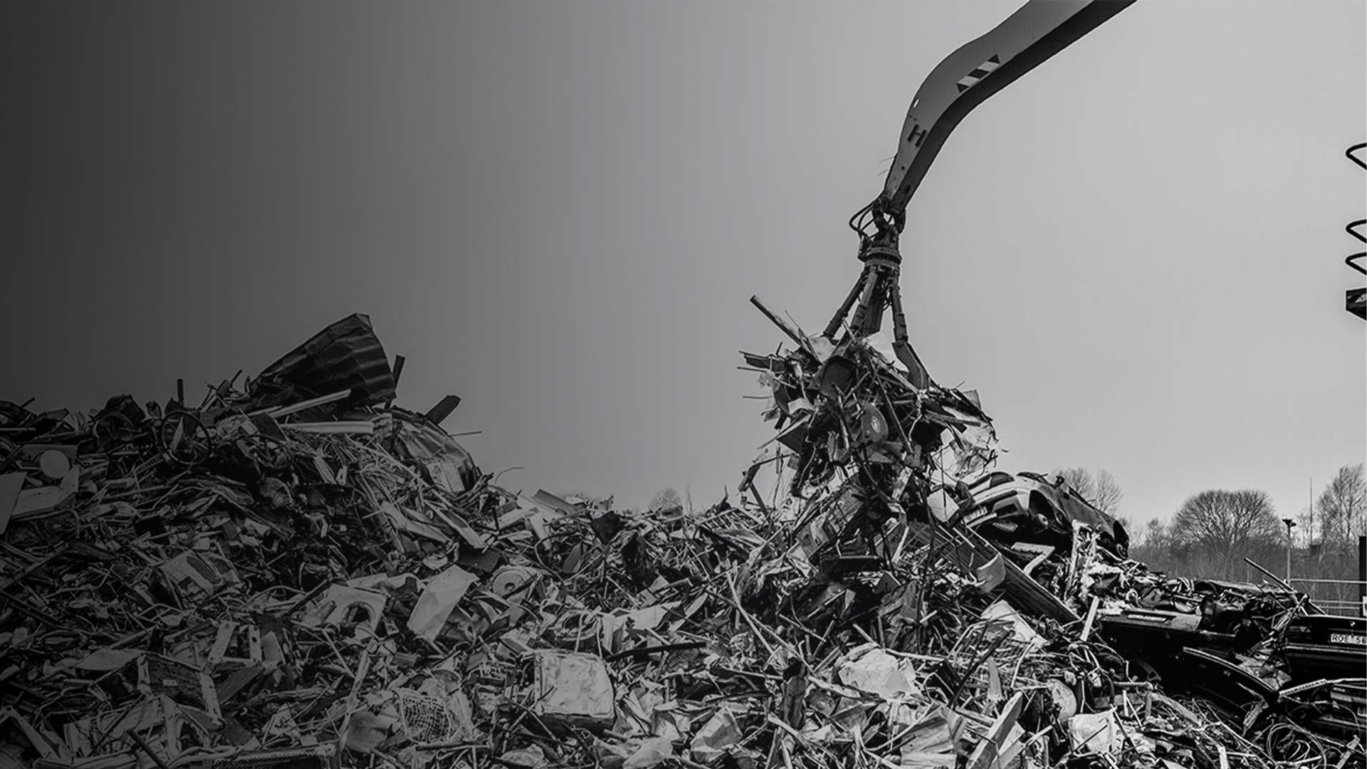 Attrezzatura per la demolizione e il riciclaggio Hardox® In My Body