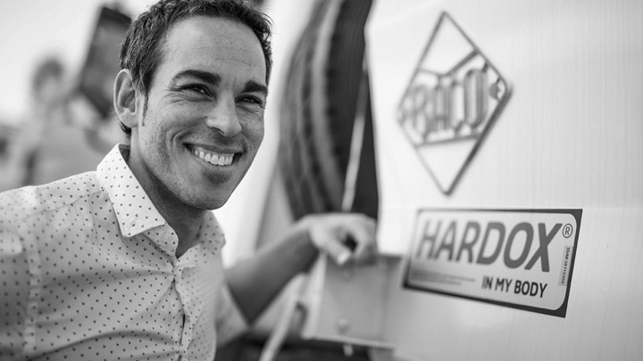 Caminhão basculante Hardox® In My Body da Industrias Baco