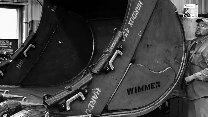 WimmerのHardox® In My Bodyバケット