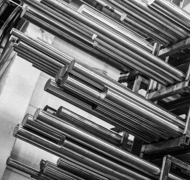 Barres rondes en acier Hardox